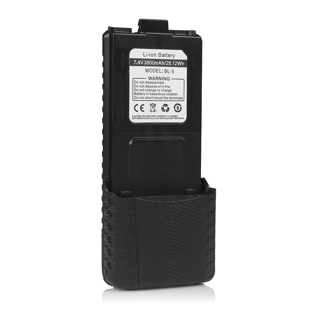 7.4 v 3800 mah Baofeng Batteria Li-Ion per UV-5R DM-5R TP F8 + UV-5R uv 5r Plus. Walkie Talkie Due way Ham Radio Accessori