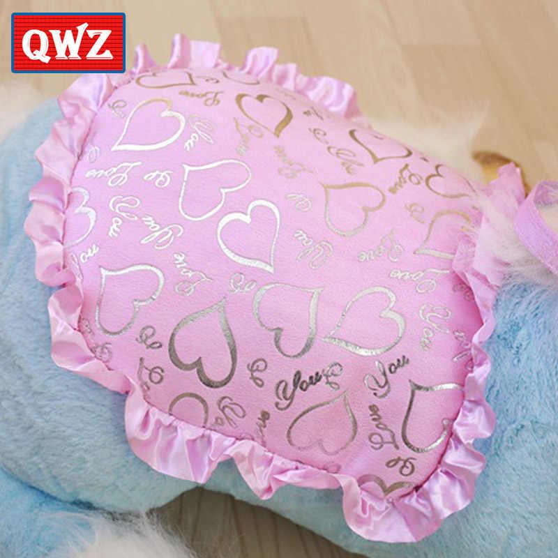 QWZ 100 см большой мягкие животные Лошадь Единорог плюшевые игрушки розовый кукла мягкая Unicornio игрушечные лошадки реквизит для детей Рождественский подарок