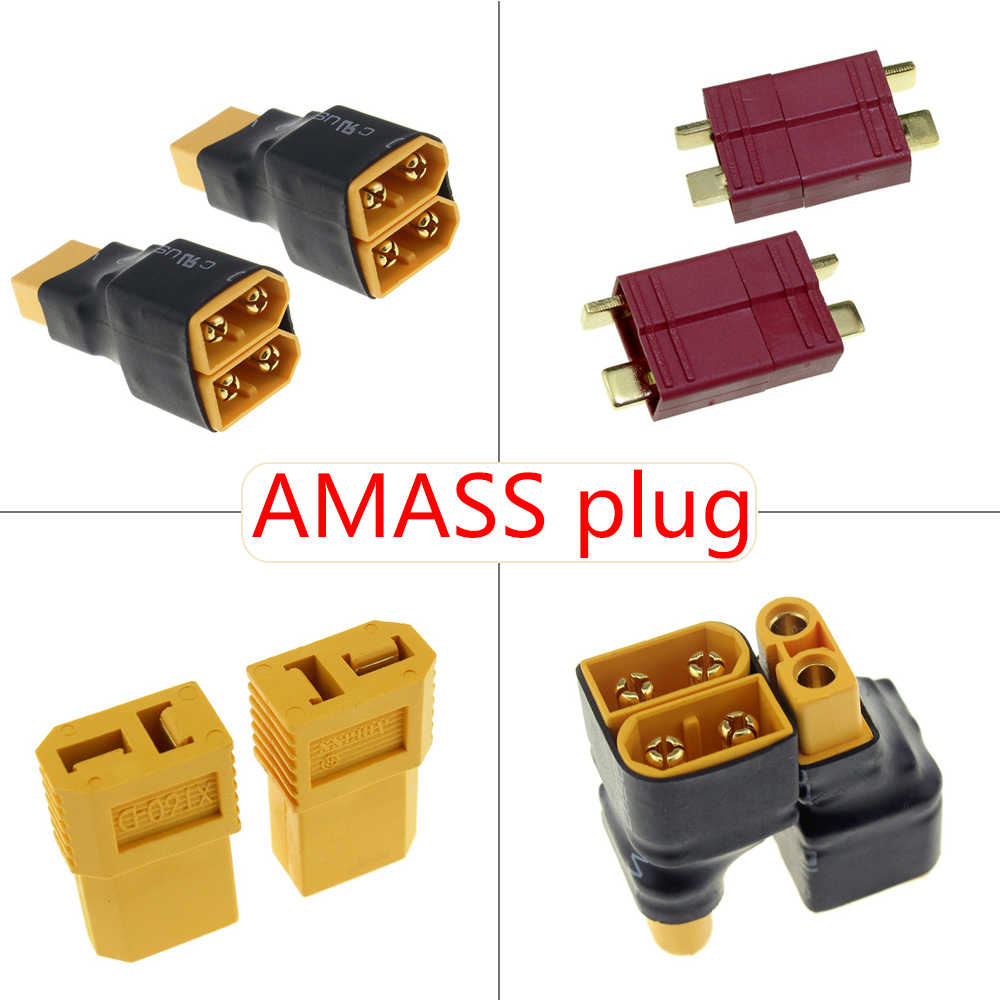 Detail Feedback Questions About Amass Xt60 Plug Connector Dean Wiring Batteries Parallel And Series Female Male Converter Adapter Lipo Battery Harness
