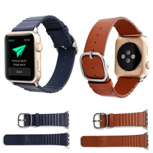 Leather watch strap For apple watch band 40mm&bracelet for apple watch 44mm sports band for iwatch bands 42mm Series 3 2 1 38mm цена и фото