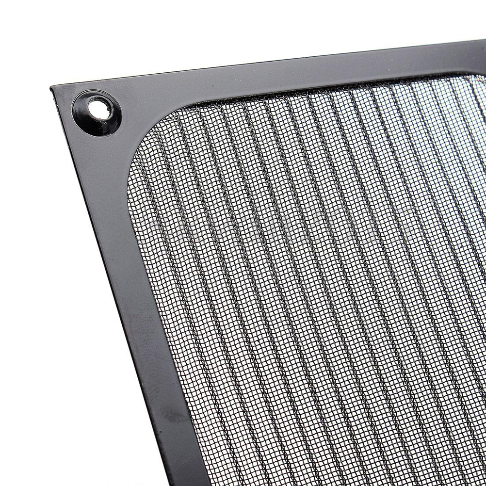 Купить с кэшбэком 120mm PC Computer Fan Cooling Dustproof Dust Filter Case Aluminum Grill Guard