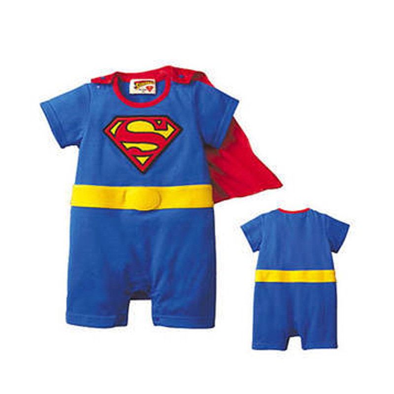 173ad9d70 new children Halloween costumes suit Baby Superman Batman Long Sleeve Smock  Infant Romper Girl Boy Clothing Sets-in Clothing Sets from Mother & Kids on  ...
