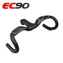 EC90 manillar de fibra de carbono para bicicleta de carretera, manillar integrado de una pieza, novedad de 2019