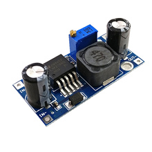 100 adet/toplu LM2596S LM2596 DC DC step modülü 5V / 12V / 24V ayarlanabilir regülatörü 3A güç modülü