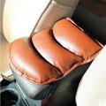 Car styling Car Center Armrests Cover Pad Mats For DACIA Duster Lodgy SANDERO STEPWAY Dokker Logan