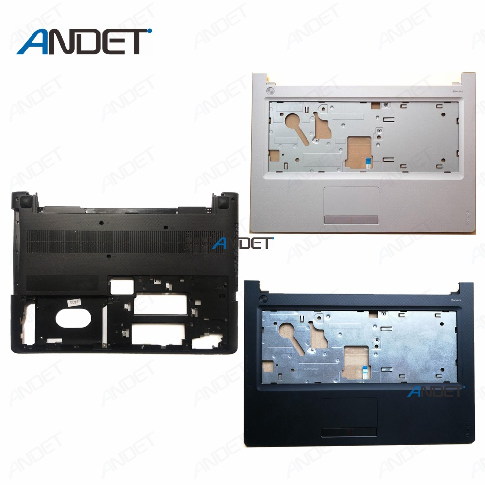 New Original For Lenovo IdeaPad 300-14 300-14ISK 300-14IBR Palmrest Upper  Case with Touchpad Bottom Base Lower Cover