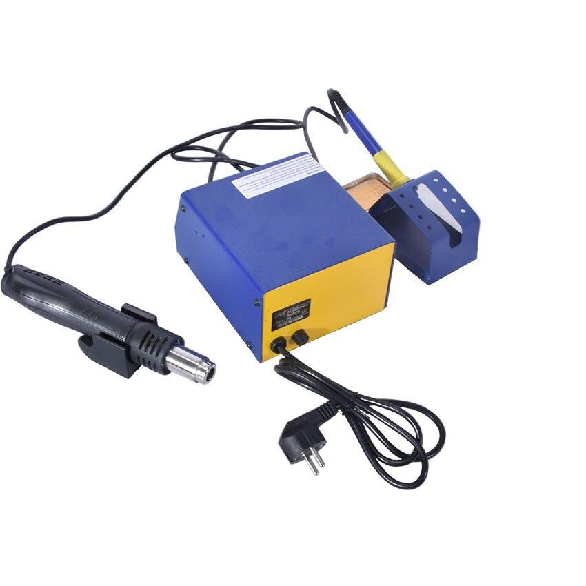 Tools : 1PC 220V BAKU BK-601D LED Digital Display Hot Air SMD Rework Station hot air solder station BGA rework