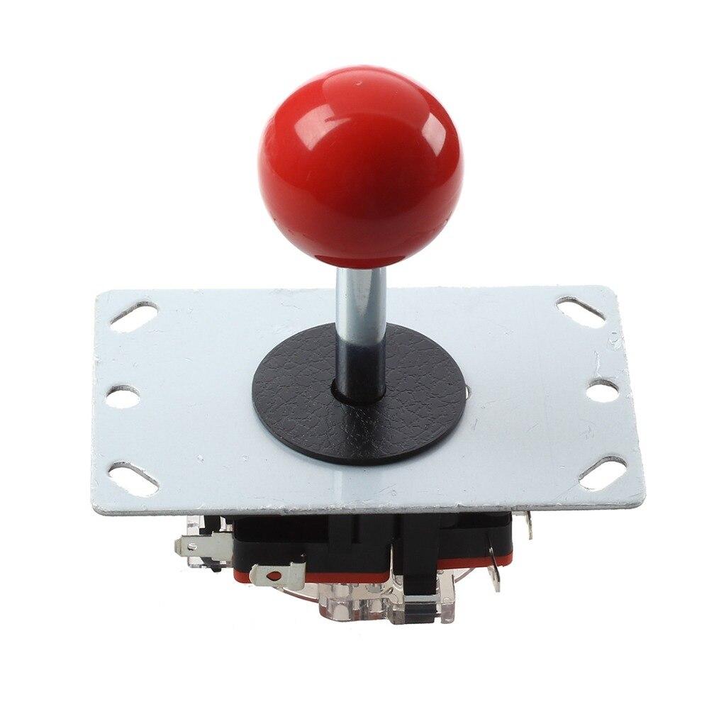 Pin 8 modes Rouge balle Joystick pour arcade machine console de loisirs