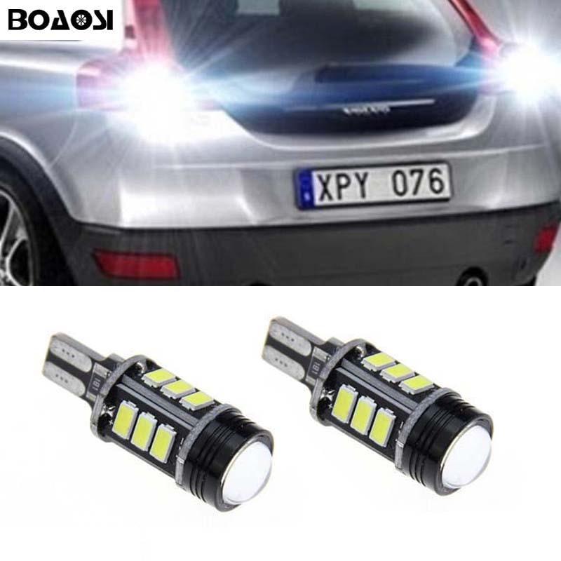 BOAOSI 2x Canbus LED 921 T15 W16W LED Car Backup Reverse Light lamp - Car Lights