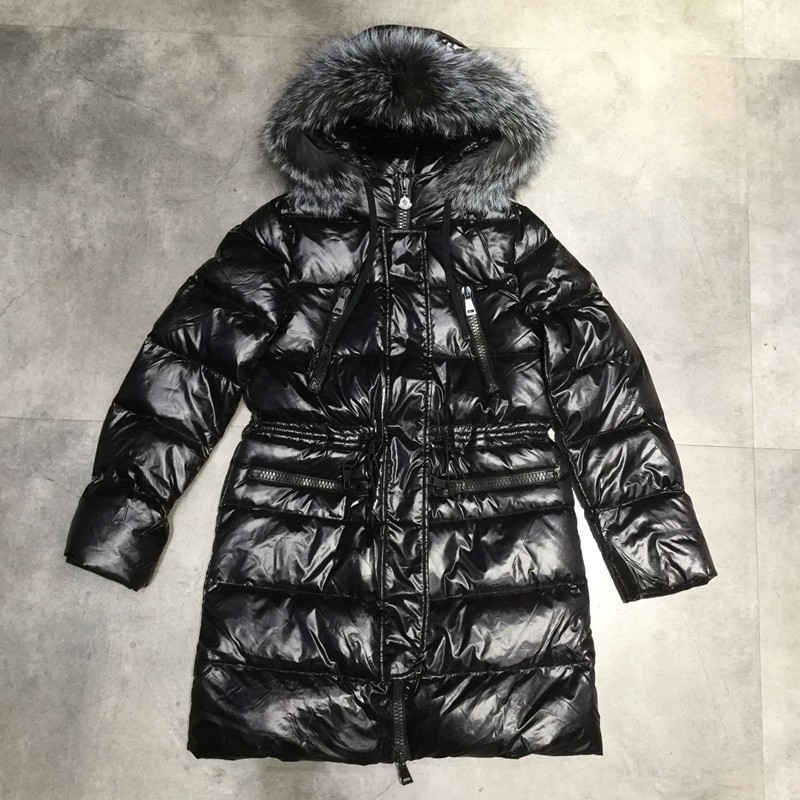 New Big Fur Collar Parka Thickening 90% White Duck   Down     Coat   Fashion Winter Jacket Women Hooded Warm Short Feather Outwear PJ338