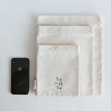Multifunctional Durable Canvas Storage Bag Charger Pouch Cable Eco Friendly Products Woreczki Strunowe Christmas 60A23