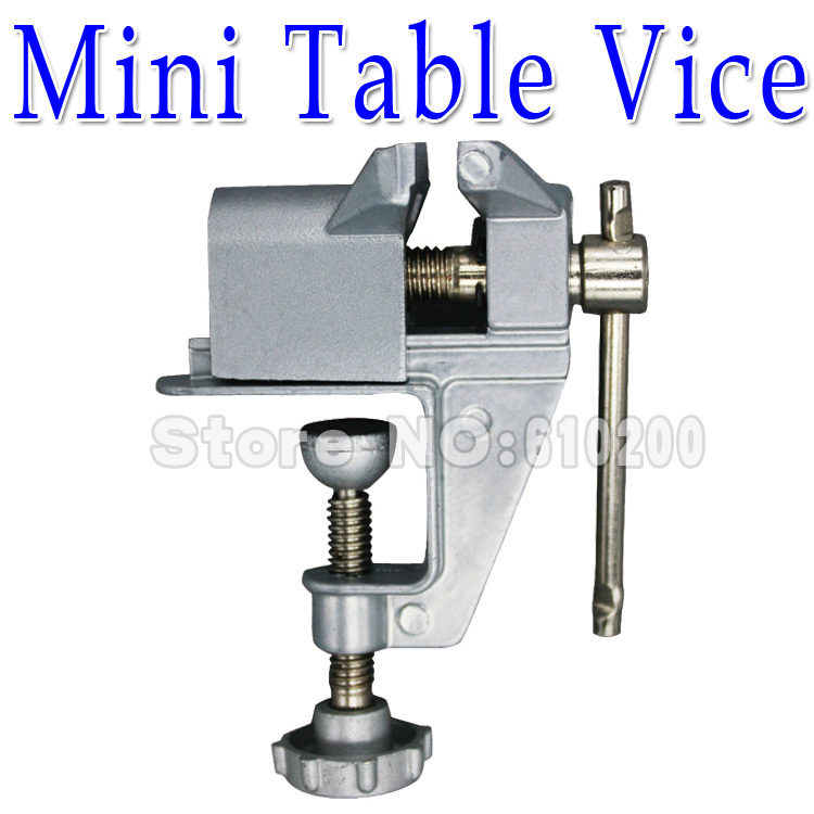 Free shipping Mini Table Vice/bench vice Fixture Multi-functional DIY PCB Fixed Repair Tools Aluminium Alloy