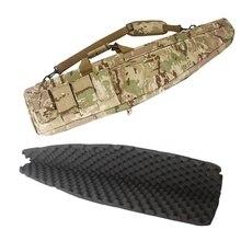 나일론 unisex 98 118cm 하이킹 배낭 야외 스포츠 가방 전술 소총 가방 캠핑 사냥을위한 군사 어깨 운반 가방