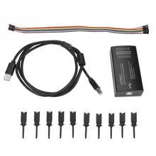 LHT00SU1 виртуальный логический анализатор показаний осциллографа многофункциональный генератор сигналов с USB соединительным кабелем Лучшая цена