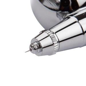 Image 3 - Feed Airbrush Gravity Air brush Pistola A Spruzzo a doppia Azione Kit Per Il Trucco Unghie artistiche di Design Artigianale Tatuaggio decorazione di Una Torta
