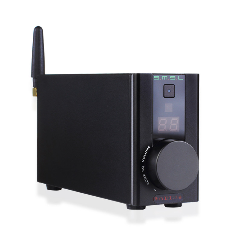 SMSL AD13 Multi Function Bluetooth 4 0 Mini AMP HIFI Digital Amplifier Audio Power Amplifier 50W