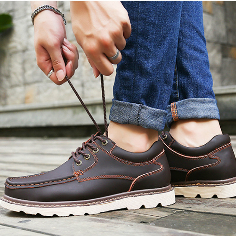 Shoes Designer Flats Outdoor Casual Fashion Brand B1-36 Hiking Male Men