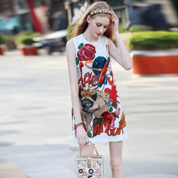 Été Poupée Jupe Mince Mot Était Gilet Color Blanc Automne Dames Tempérament Robe Un Et Qualité 2018 Chargé Nouveau Haute Photo dzpqx114w