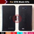 ZTE Blade GF3 Чехол 6 Цвета Моды Ультра-тонкий Luxury Защитный Флип Эксклюзивная Кожа Случае Крышка Телефона Кошелек Стиль + Отслеживая