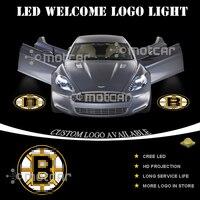 Araba Kapı Adım Nezaket Hoşgeldiniz Işık Projektör Lazer B-kalıntıları GOBO Logosu Işık Hayalet Gölge Puddle Amblem Spot Bırak nakliye