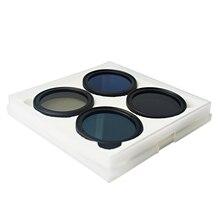 Musan 4 Pieces CPL+ND16+ND32+ND64 Filter Set for DJI Phantom 3/3SE/4 Standard+Professional+Advanced Drone Filter Kit+Bag