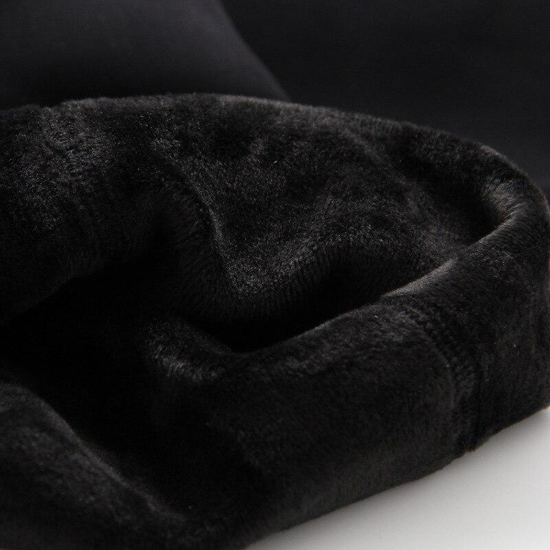 COOTELILI Warm Winter Leggings For Girls Thick Warm Elastic Waist Cotton Leggings Girl Pants Trousers Children Pants 3-15years  (6)