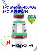 Mini 3D Printer 12mm linear rail MR12 miniature linear slide 1pcs MGN12 450mm rail +2pcs MGN12C/H carriage