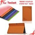 Para Teclast TBOOK11 10.6 polegada case capa, os mais recentes de alta qualidade caso de Couro Pu para Teclast x16hd TBOOK 11 X16plus