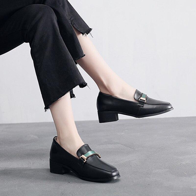 black Simples En Dames Slipon Baskets Chaussures Like Printemps Femmes Mocassins Femme other You Cuir 2019 Color Pour Oxford Beige Véritable D'été De H9b2eWDYEI