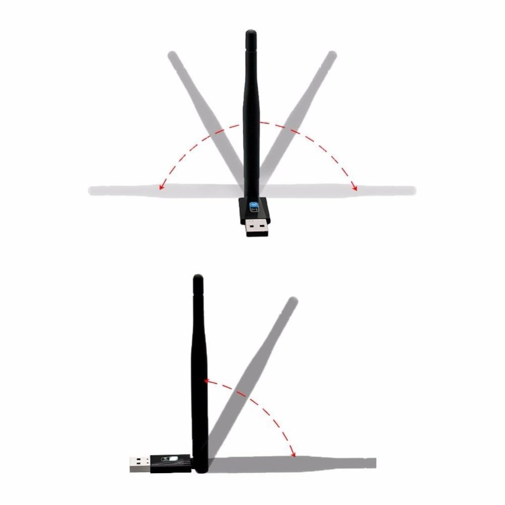 ZAPO Bluetooth 4.0 Wireless USB 802.11n Hinzufügen von 2,4 GHz 150 - Netzwerkausrüstung - Foto 4
