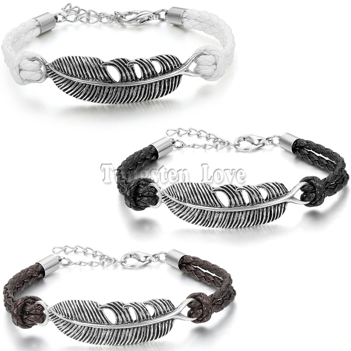 Feather Bracelet Men