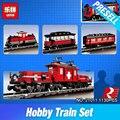 Lepin 21011 1130Pcs Technical Series The Medical Changing Train Set Children Educational Building Blocks Bricks Toys Model 10183