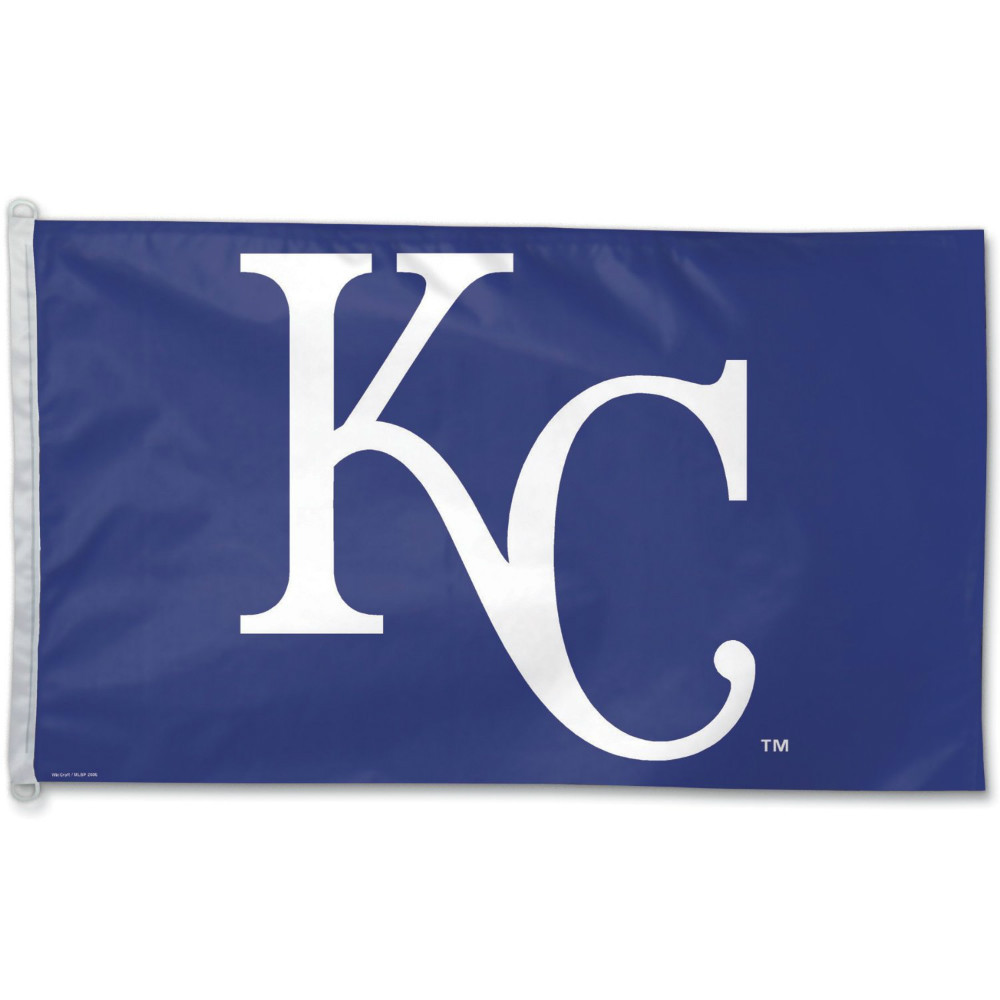 Kansas City Royals Flag 3' x 5' FT MLB Fan Flag Banner brass metal holes Flag Size No.4 144* 96cm Custom flag