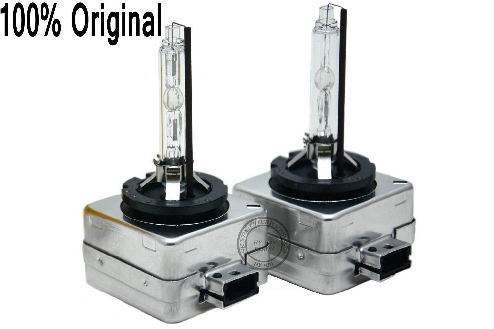 Prix pour 100% Véritable De D'origine 2 x Remplacement D1S HID D1S XÉNON Ampoules 4300 K 6000 K 8000 K Pour TOUS LES VOITURE usine boîte