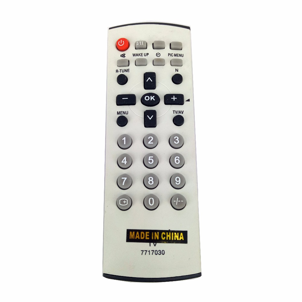 NEW Replacement for Panasonic TV Remote Control 7717030