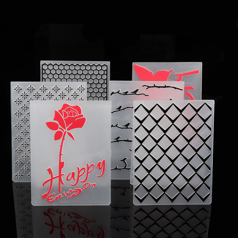 Buy 1pc new flowers arrow grid plastic for Plastic grid sheets crafts