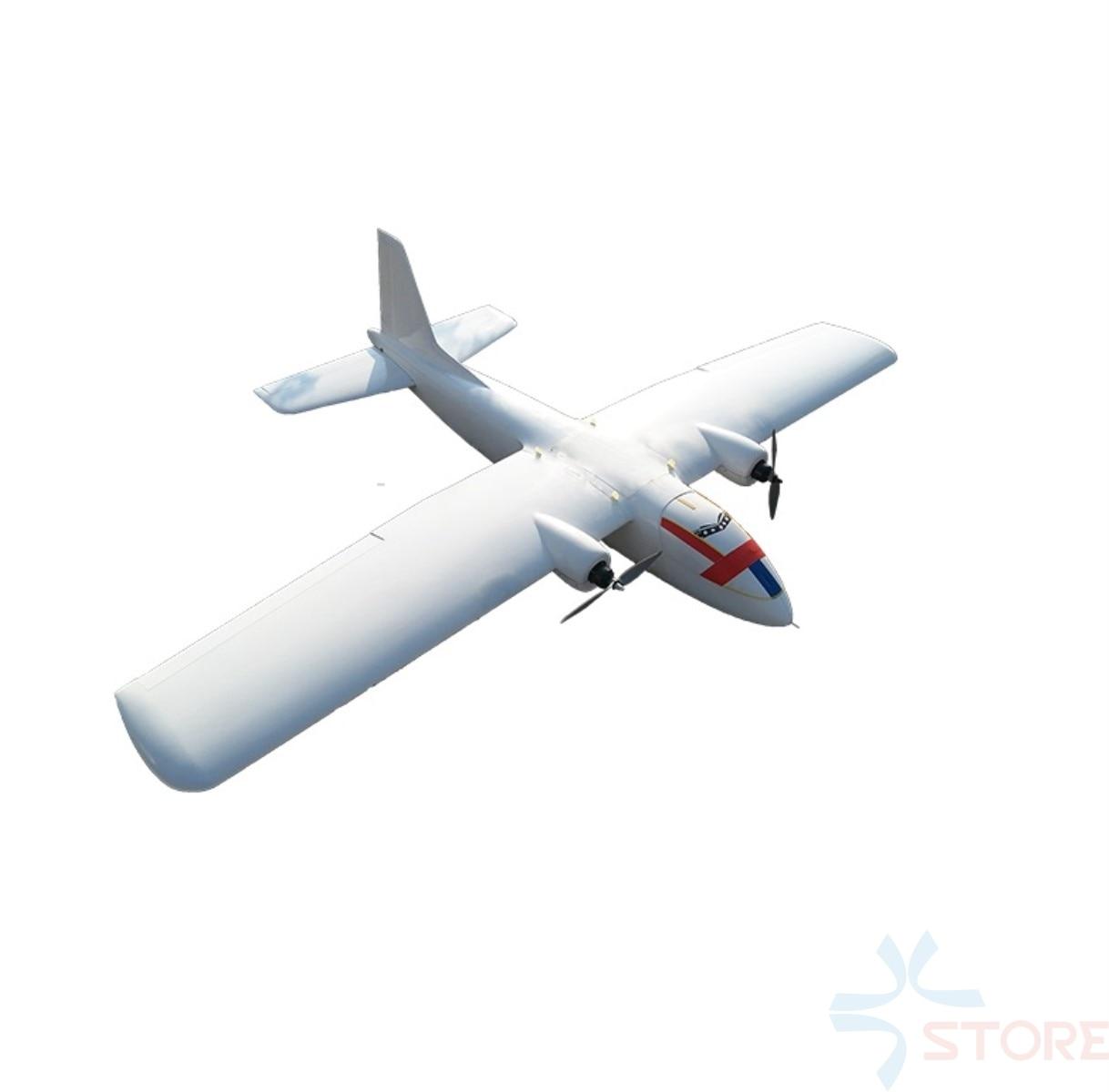 100KM Long Range My Twin Dream MTD 1800mm FPV UAV Wingspan EPO Foam Flying Wing RC Airplane Kit