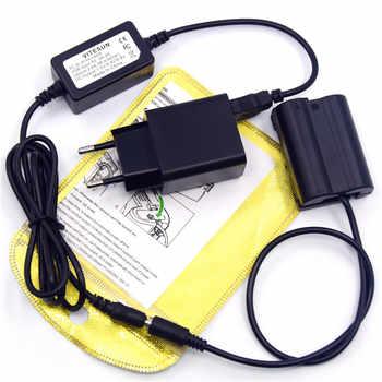 USB cable 5V3A charger+EN-EL15 MB-D15 dummy battery EP-5B DC Coupler for Nikon Z7 Z6 D7500 D7200 D850 D810 D800 D800E D750 D610