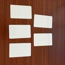 Mi 요금 Desfire 8K MF D81 Desfire 8K 흰색 카드 EV18K 카드 RIFD 수동 태그 10 개/몫