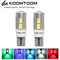 2PCS T10 LED FREE ERRORClearance Lights 5630 T10 LED Bulb Canbus for AUDI A3 8P A2 A4 A6 A8 8L B5 B6 B7 8H 4B 4F D2