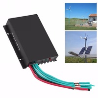 Mayitr 12 24V 600W LED Wind Turbine Generator Charge Controller Regulator Waterproof