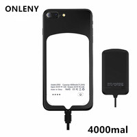 4000mal 4000mAh Mobile Power Bank Anti Gravity Nano Suction Polymer Battery Portable Travel Phone Charger For