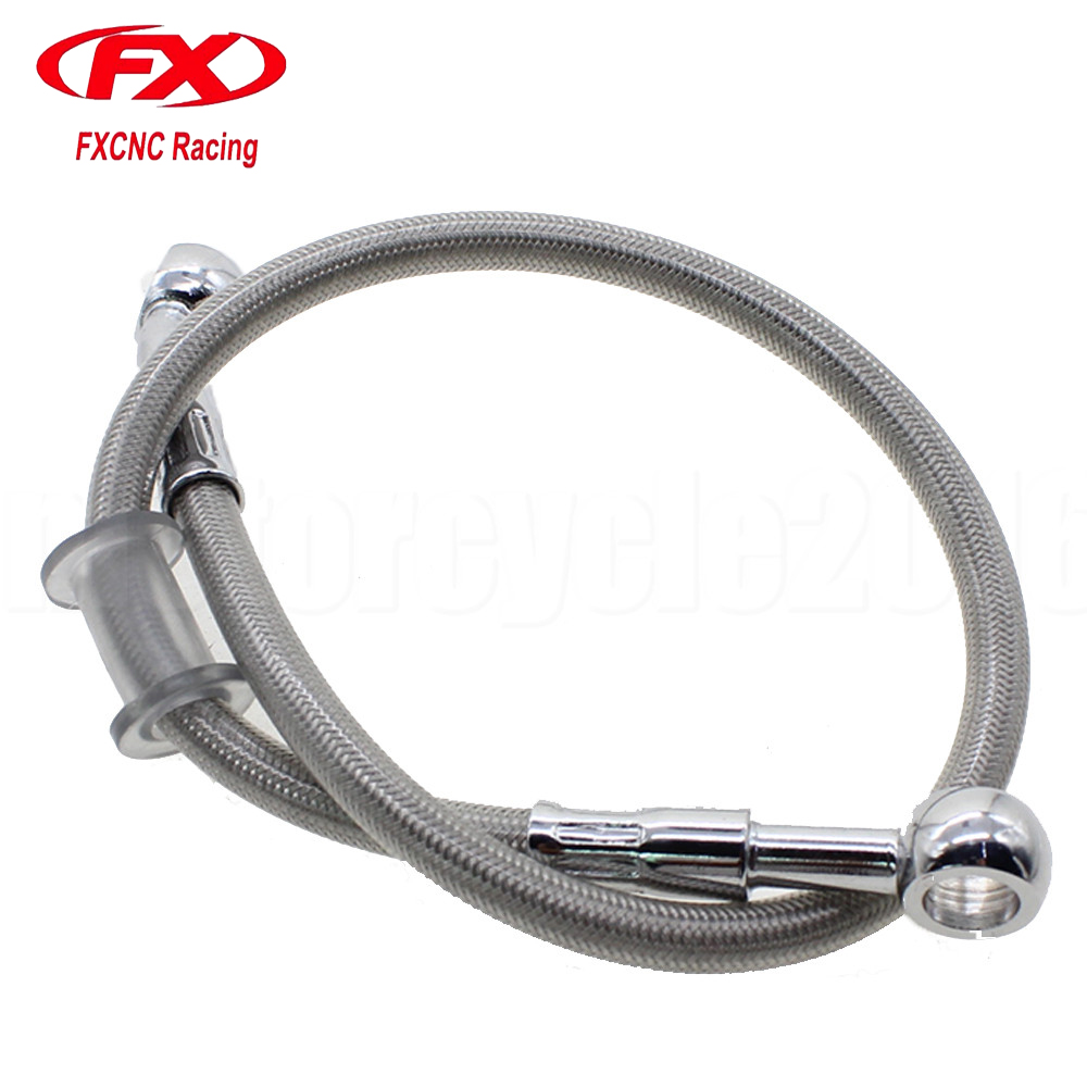 1000MM Motorcycle Brake Hose Line Pipe Hydraulic Reinforced Fit ATV Dirt Pit Bike Motocross Motorbike Braided Universal Line 900mm 1100mm 2300mm colorful motorcycle hydraulic reinforced brake or clutch oil hose line pipe fit atv dirt pit bike motocross