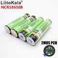 Original LiitoKala 18650 batería de 3400 mAh Li-ion de 3,7 V batería recargable PCB protegida NCR18650B 18650, 3400
