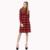 Dioufond 2016 novo casaco longo mulheres trincheira turn-down collar trincheira luva cheia único breasted botão xadrez trincheira com bolsos