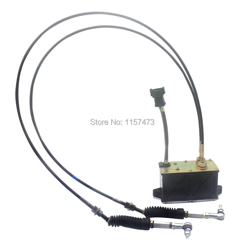 320C E320C Throttle Motor Accelerator 247-5213 with Double Cable, 7 pins/ wire , 6 month warranty320C E320C Throttle Motor Accelerator 247-5213 with Double Cable, 7 pins/ wire , 6 month warranty