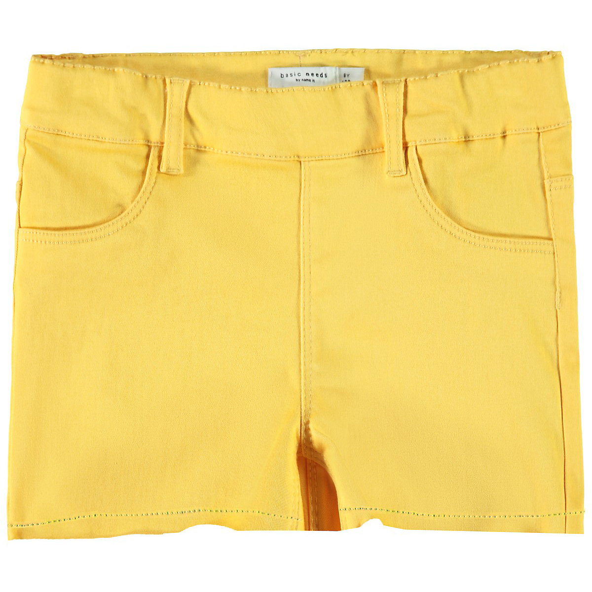 NAME IT Shorts 10624822 for boys and girls child sport for teenagers clothes Cotton Elastic Waist Girls girls plain elastic waist shorts