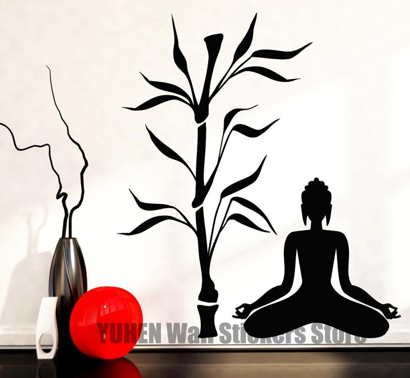 Online Get Cheap Yoga Tree Wall Decal Aliexpresscom Alibaba Group - Zen wall decals