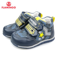FLAMINGO Breathable Hook& Loop Spring& Summer Orthotic Outdoor Casual Shoes for Boy Size 19 24 Free Shipping 91B XY 1147/1148 Sneakers    -