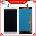 Высокое Качество Для Vivo Xshot X710 X710L FPC9291A ЖК-Дисплей с Сенсорным Экраном Белый Цвет Мобильный Телефон Запасных Частей Бесплатно инструменты